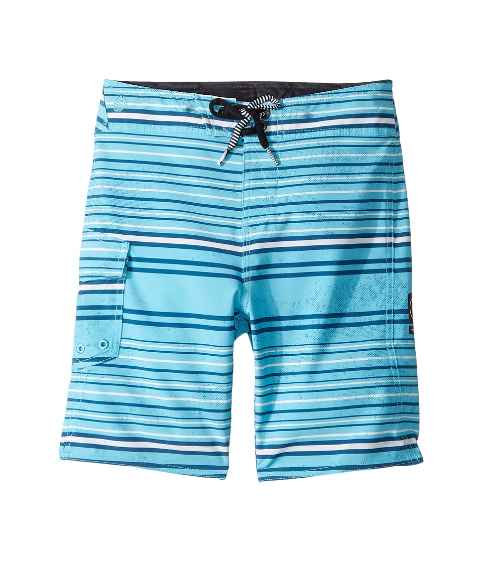 Volcom Kids Magnetic Liney Mod Boardshorts (Toddler/Little Kids) (Dusty Aqua) Boy