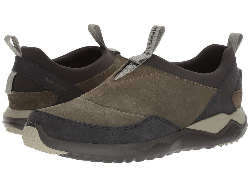 Merrell 1SIX8 Moc Leather (Dusty Olive) Men