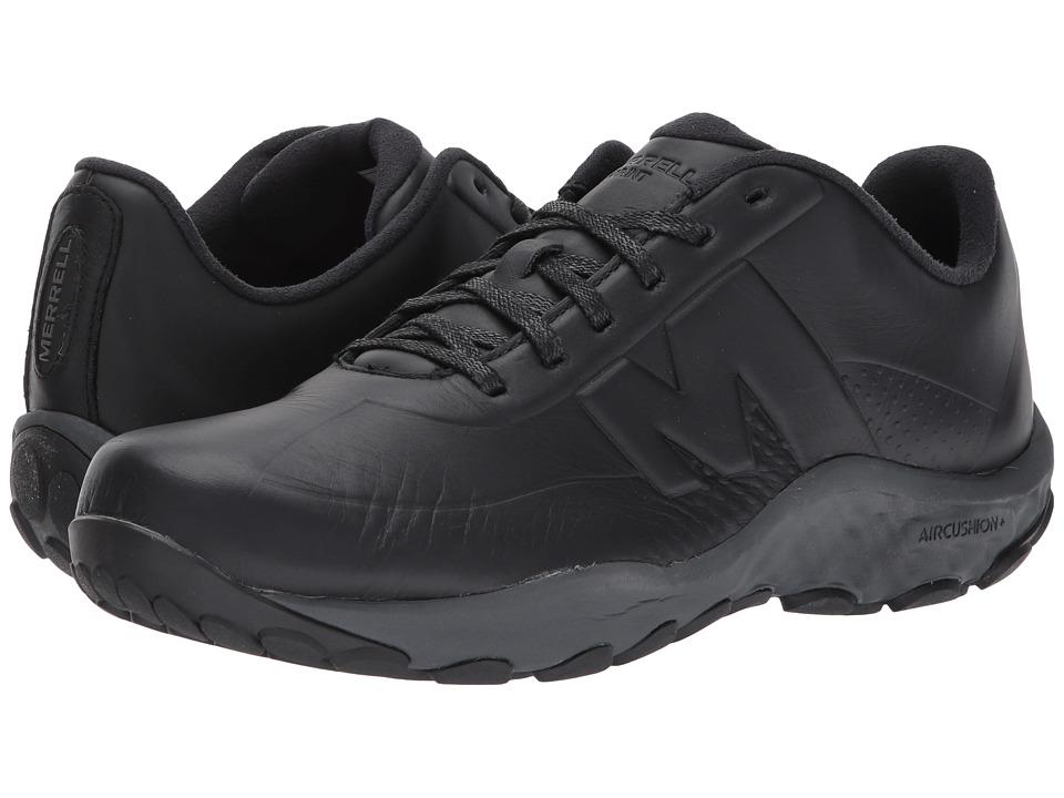Merrell Sprint Lace Leather AC+ (Black) Men