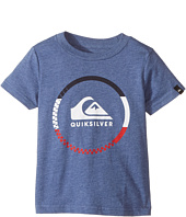 Quiksilver Kids - Active Logo Blocked Tee (Toddler/Little Kids)