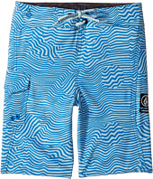 Volcom Kids - Magnetic Stone Mod Boardshorts (Toddler/Little Kids)