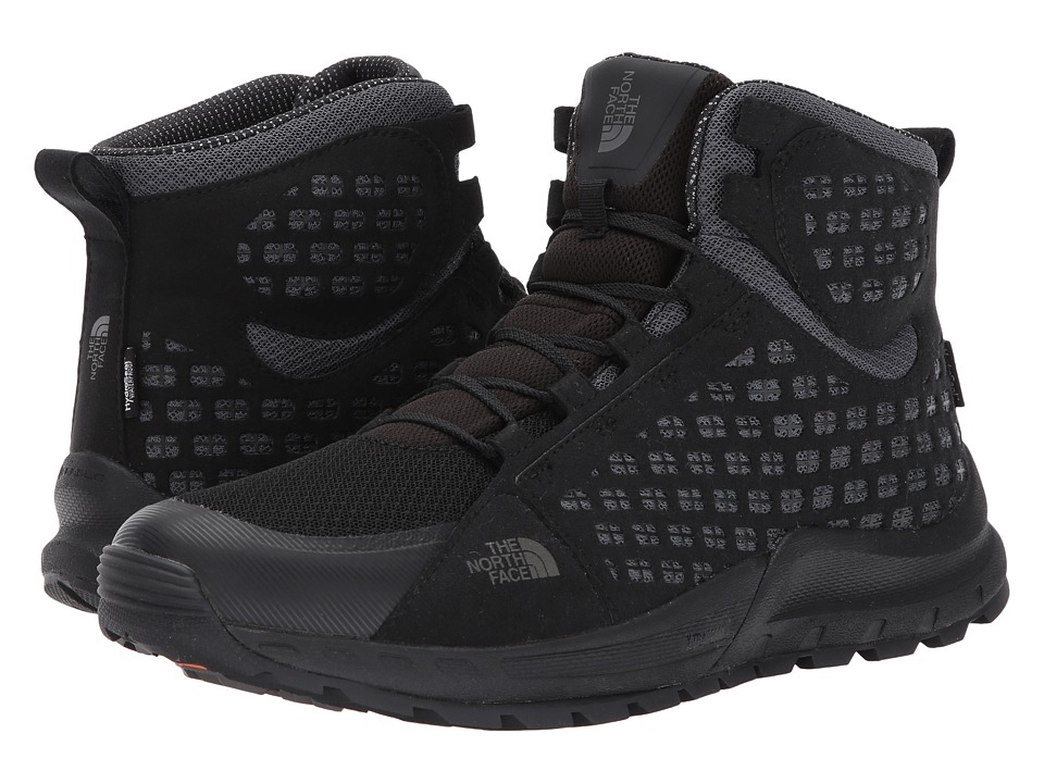 The North Face Mountain Sneaker Mid WP (TNF Black/Smoked Pearl Grey) Men