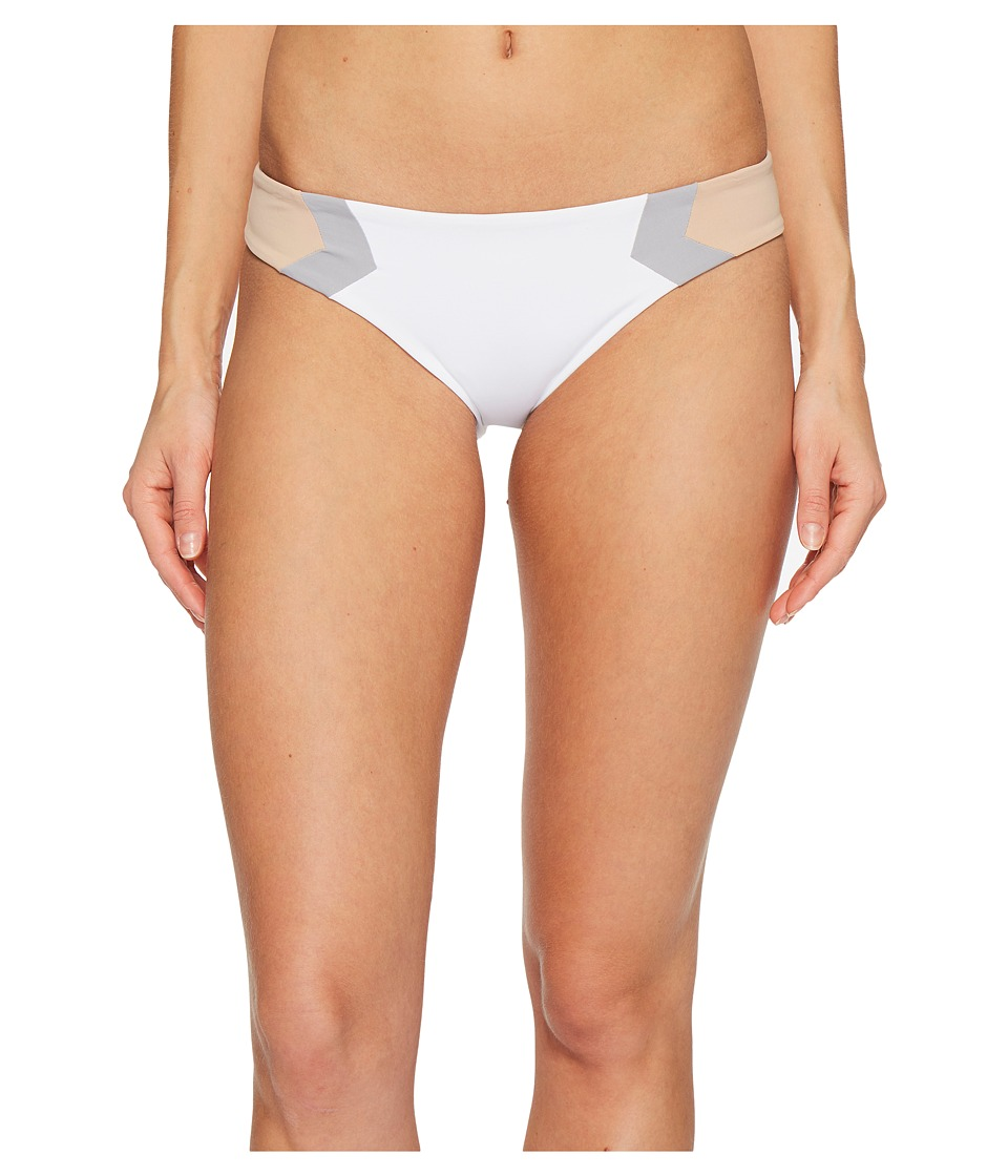 L*Space Color Block Barracuda Classic Bottom (White) Women
