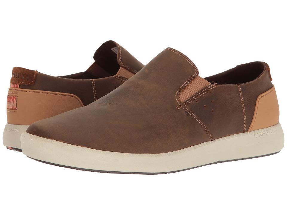 Merrell - Freewheel Moc (Brown Sugar) Mens Slip on  Shoes