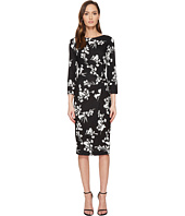 ESCADA - Dassiva Floral Long Sleeve Wrap Dress