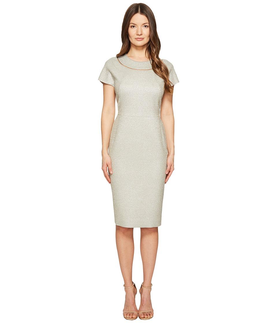 ESCADA - Dsill Short Sleeve Fitted Dress