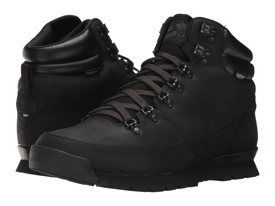The North Face - Back-To-Berkeley Redux Leather (TNF Black/TNF Black/TNF Black) Mens Hiking Boots