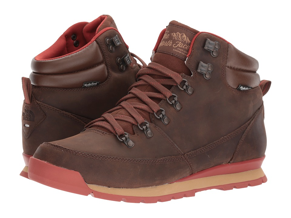 The North Face Back-To-Berkeley Redux Leather (Carafe Brown/Ketchup Red) Men