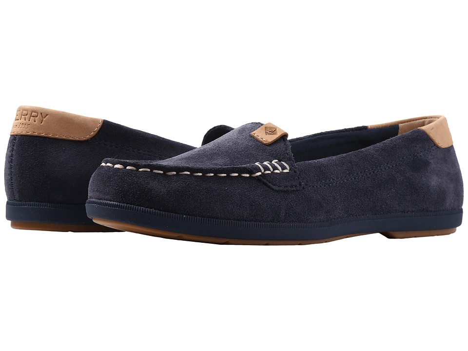 Sperry Coil Mia Suede (Navy) Women