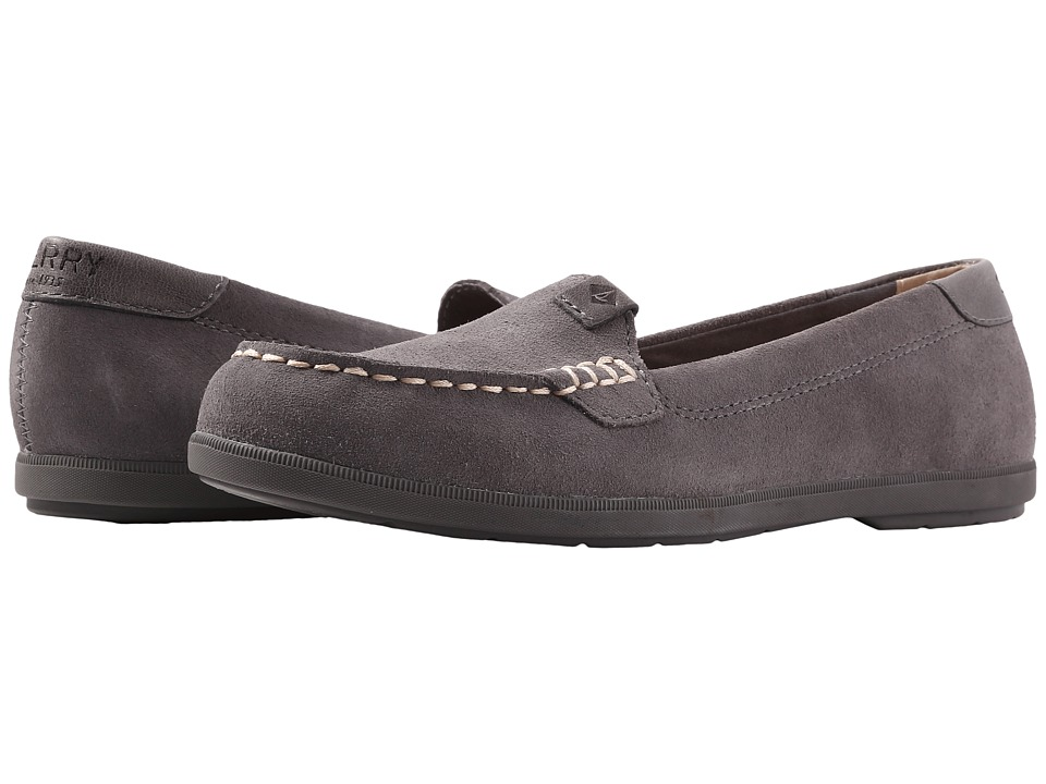 Sperry Coil Mia Suede (Dark Grey) Women