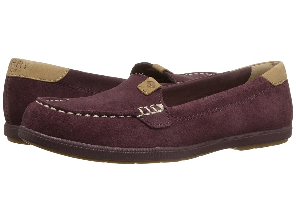 Sperry Coil Mia Suede (Grape) Women