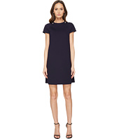 ESCADA - Damassa Short Sleeve Short Dress