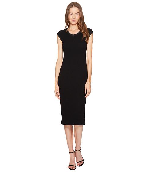 ESCADA Dastretch Short Sleeve Fitted Dress