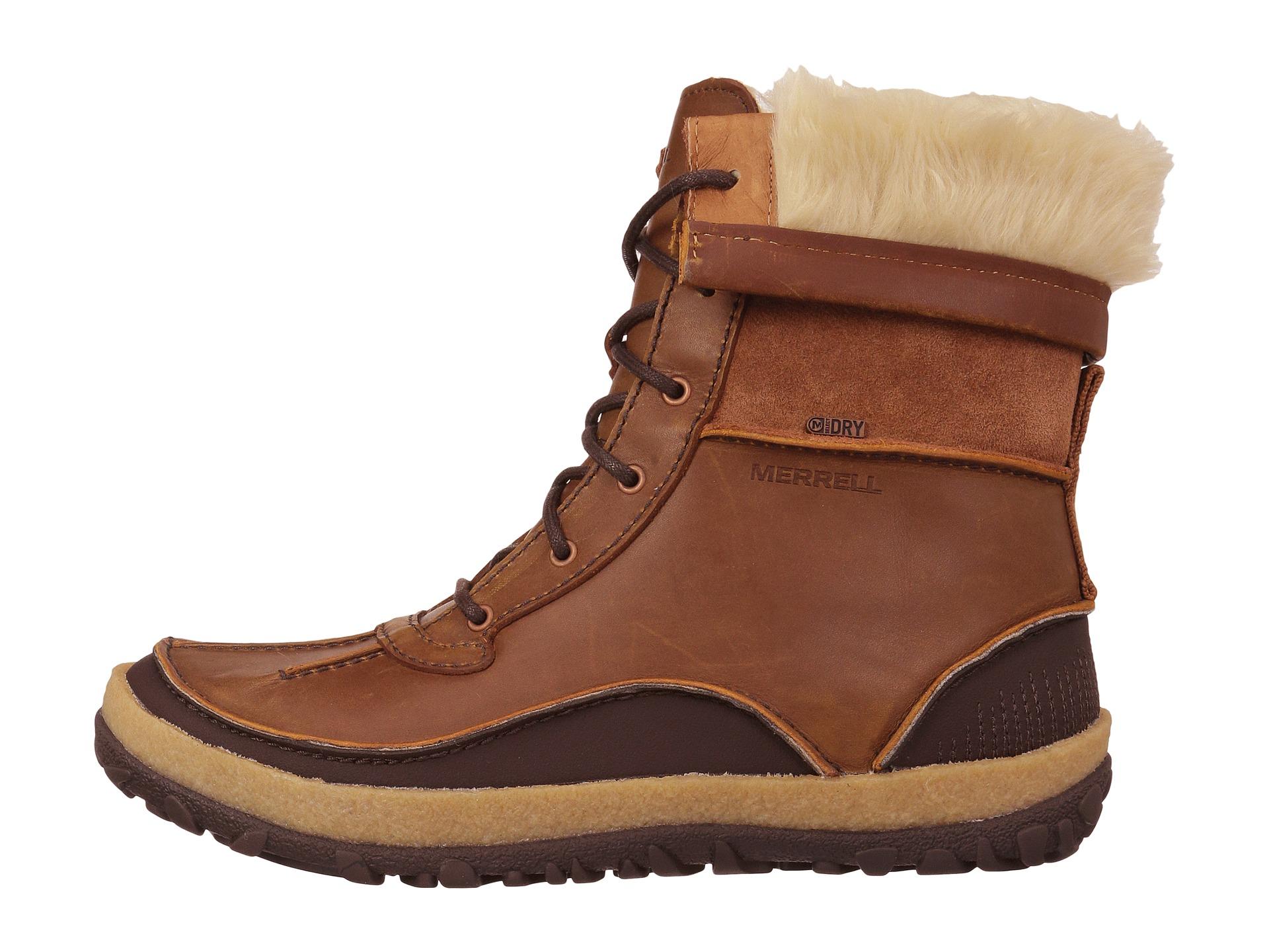 Merrell Men s Moab Polar Waterproof Winter Boots  0912294e2bf75