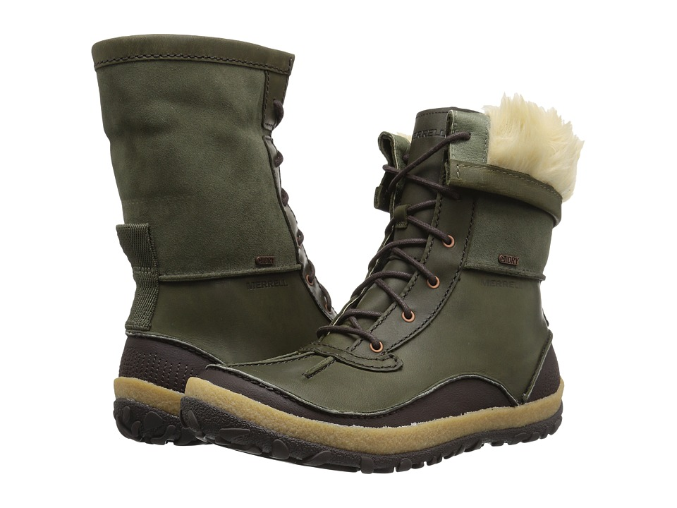 Merrell Tremblant Mid Polar Waterproof (Dusty Olive) Women