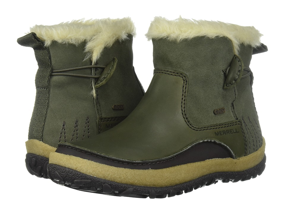 Merrell Tremblant Pull-On Polar Waterproof (Dusty Olive) Women