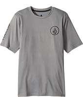 Volcom Kids - Distortion Short Sleeve Thrashguard (Big Kids)