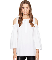 ESCADA - Nahiti Cut Out Sleeve Top