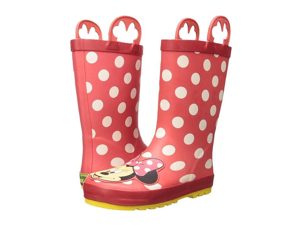 Western Chief Kids - Minnie Mouse Rain Boots (Toddler/Lit...