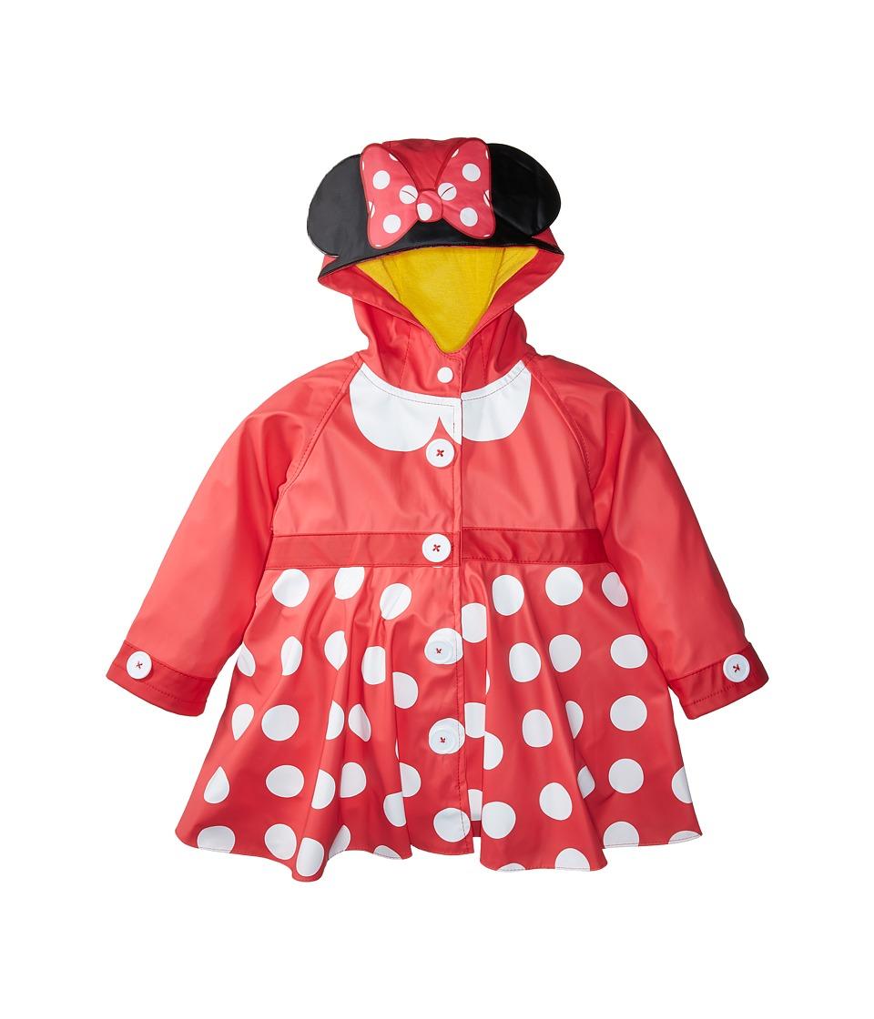 Western Chief Kids - Minnie Mouse Rain Coat (Toddler/Litt...
