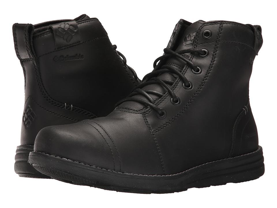 Columbia Irvington 6 LTR Boot WP (Black/Charcoal) Men
