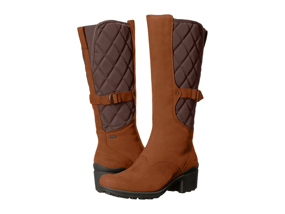 Merrell Chateau Tall Pull Waterproof (Merrell Oak) Women
