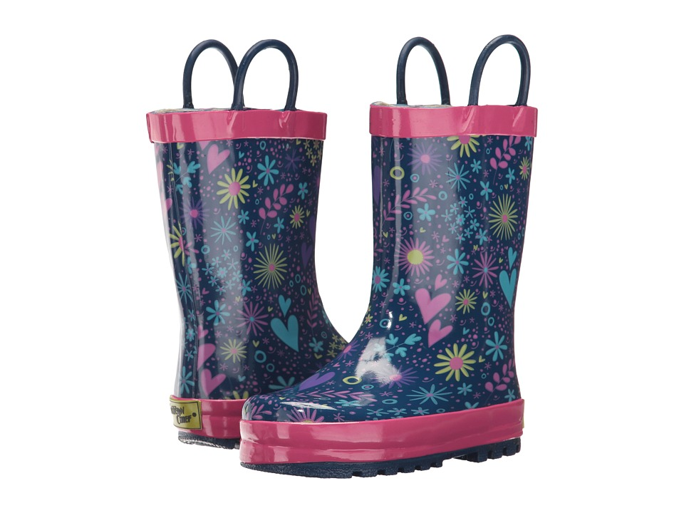 Western Chief Kids Willow Rain Boots (Toddler/Little Kid/Big Kid) (Purple) Girls Shoes