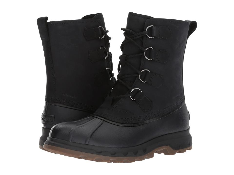 SOREL - Portzman Classic (Black) Mens Waterproof Boots