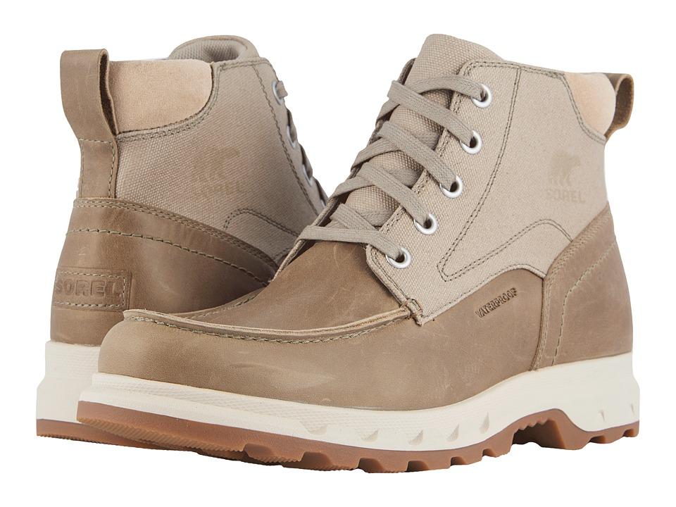SOREL - Portzman Moc Toe (Elk/Ancient Fossil) Mens Waterproof Boots