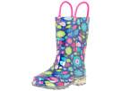 Western Chief Kids Pop Flower Lighted Rain Boots (Toddler/Little Kid)