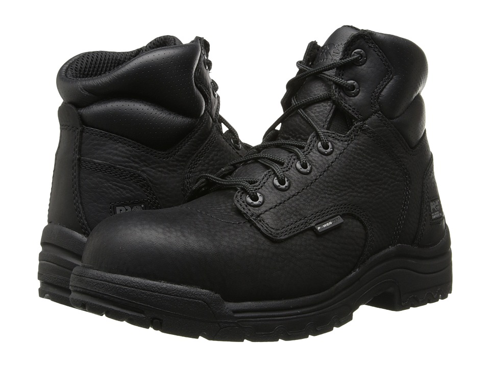 Timberland PRO - TiTAN(r) 6 Composite Toe (Black) Mens Work Boots