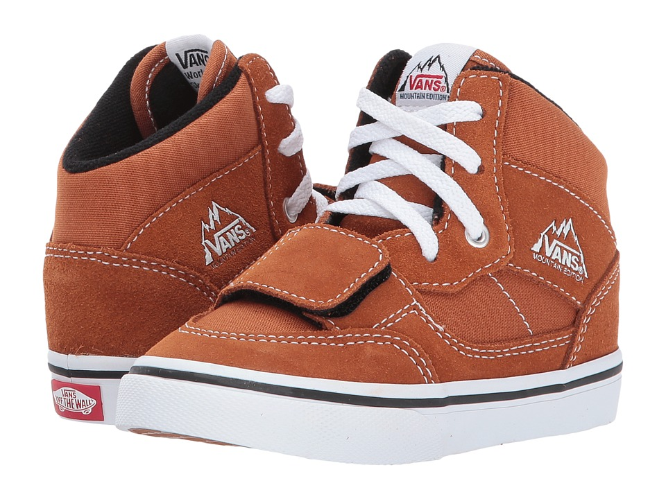 Vans Kids Mountain Edition (Toddler) ((Canvas & Suede) Glazed Ginger) Boys Shoes