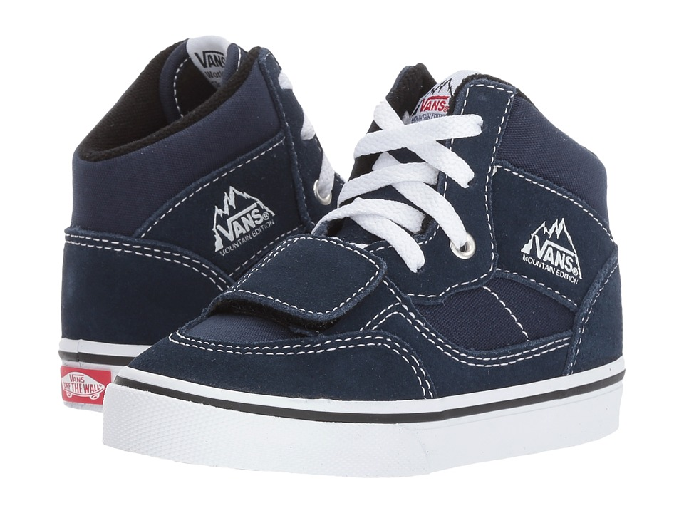 Vans Kids Mountain Edition (Toddler) ((Canvas + Suede) Dress Blues) Boys Shoes