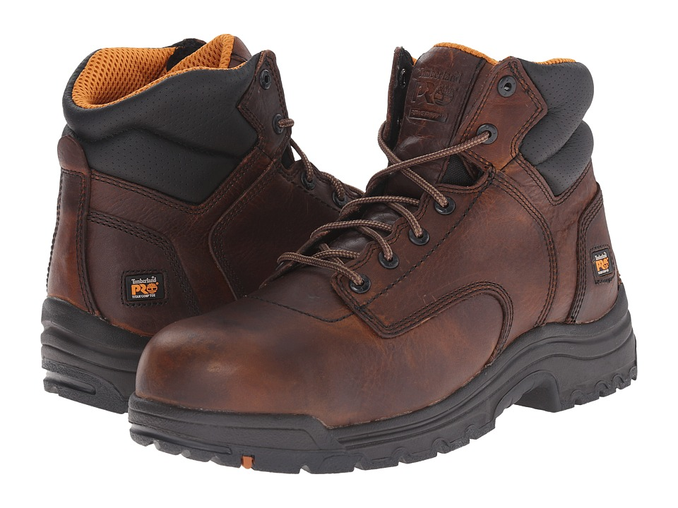 Timberland PRO - TiTAN 6 Composite Toe (Camel Brown) Men