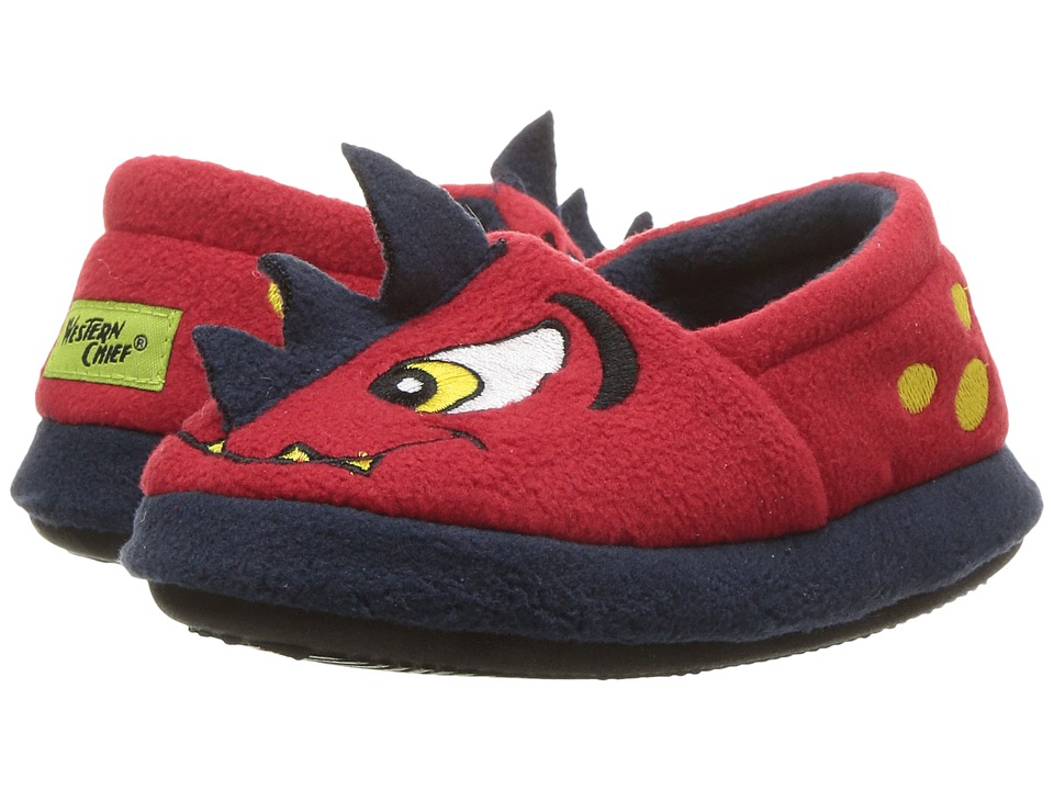 Western Chief Kids Spike Slippers (Toddler/Little Kid) (Red) Boys Shoes