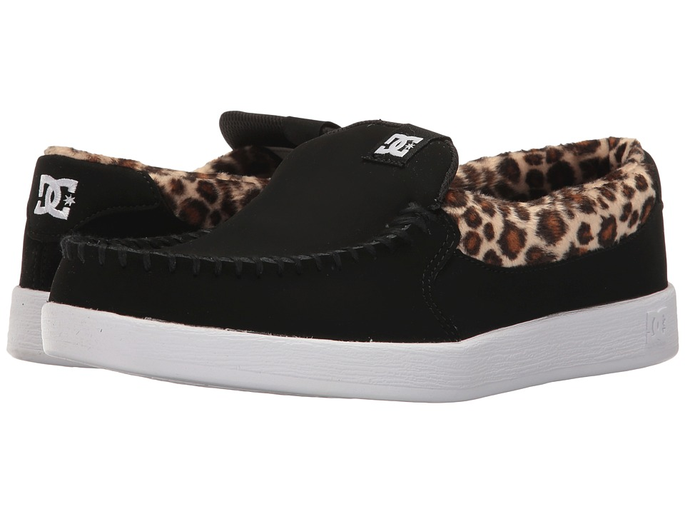 DC Villain SE (Black/Leopard) Women