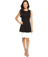Christin Michaels - Leena Sleeveless Color Block Ponte Dress