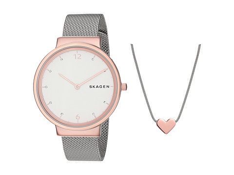 Skagen Ancher Box Set - SKW1086 - Silver