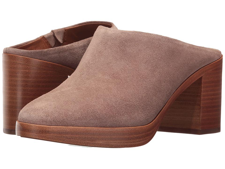 Frye Joan Campus Mule (Dusty Rose Soft Oiled Suede) High Heels