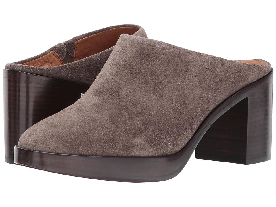 Frye Joan Campus Mule (Elephant Soft Oiled Suede) High Heels