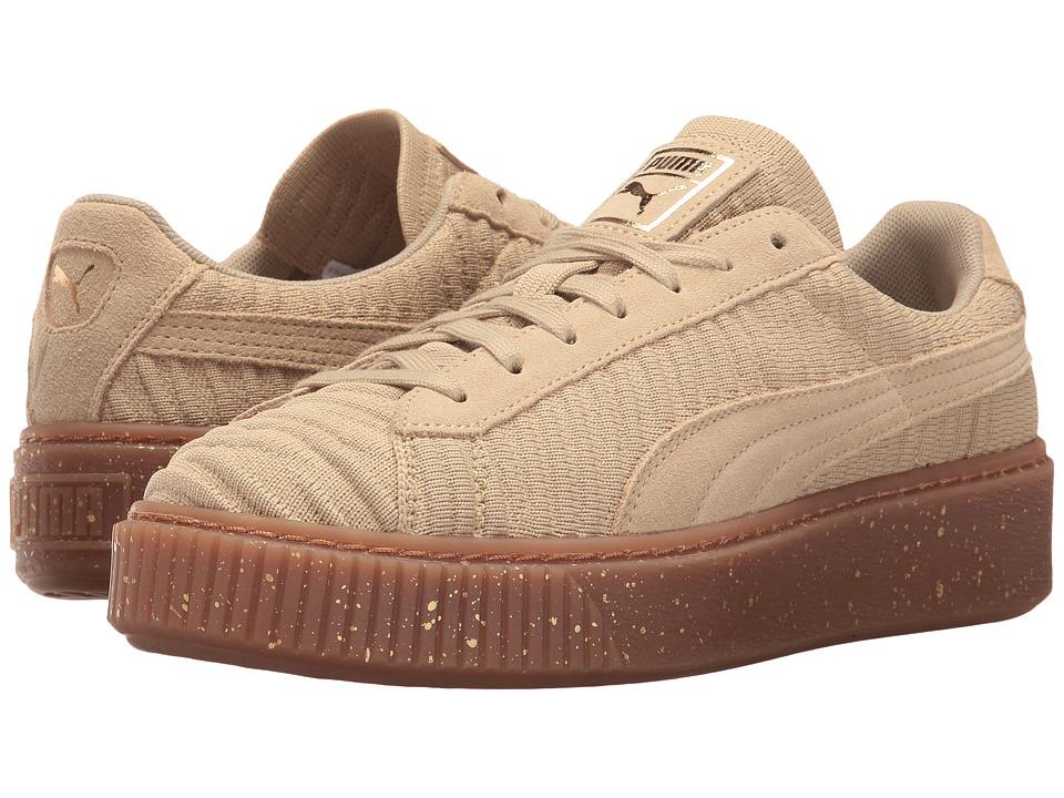 PUMA Basket Platform OW (Safari/Safari/Whisper White) Women
