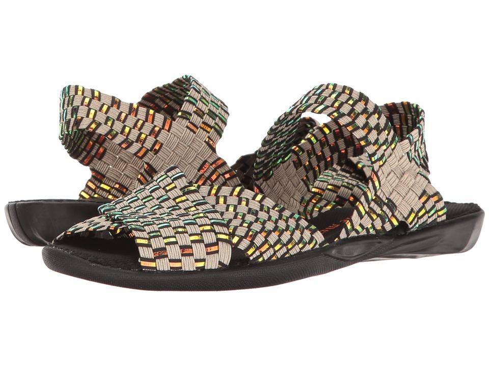 Image of bernie mev. - Balmy (Light Gold/Plasma) Women's Sandals