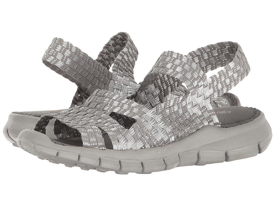 bernie mev. - Cindy (Silver Grey) Womens Sandals
