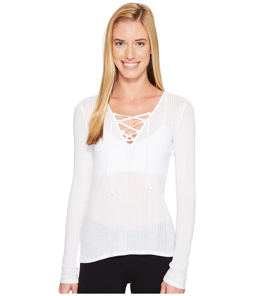 ALO - Interlace Long Sleeve Top