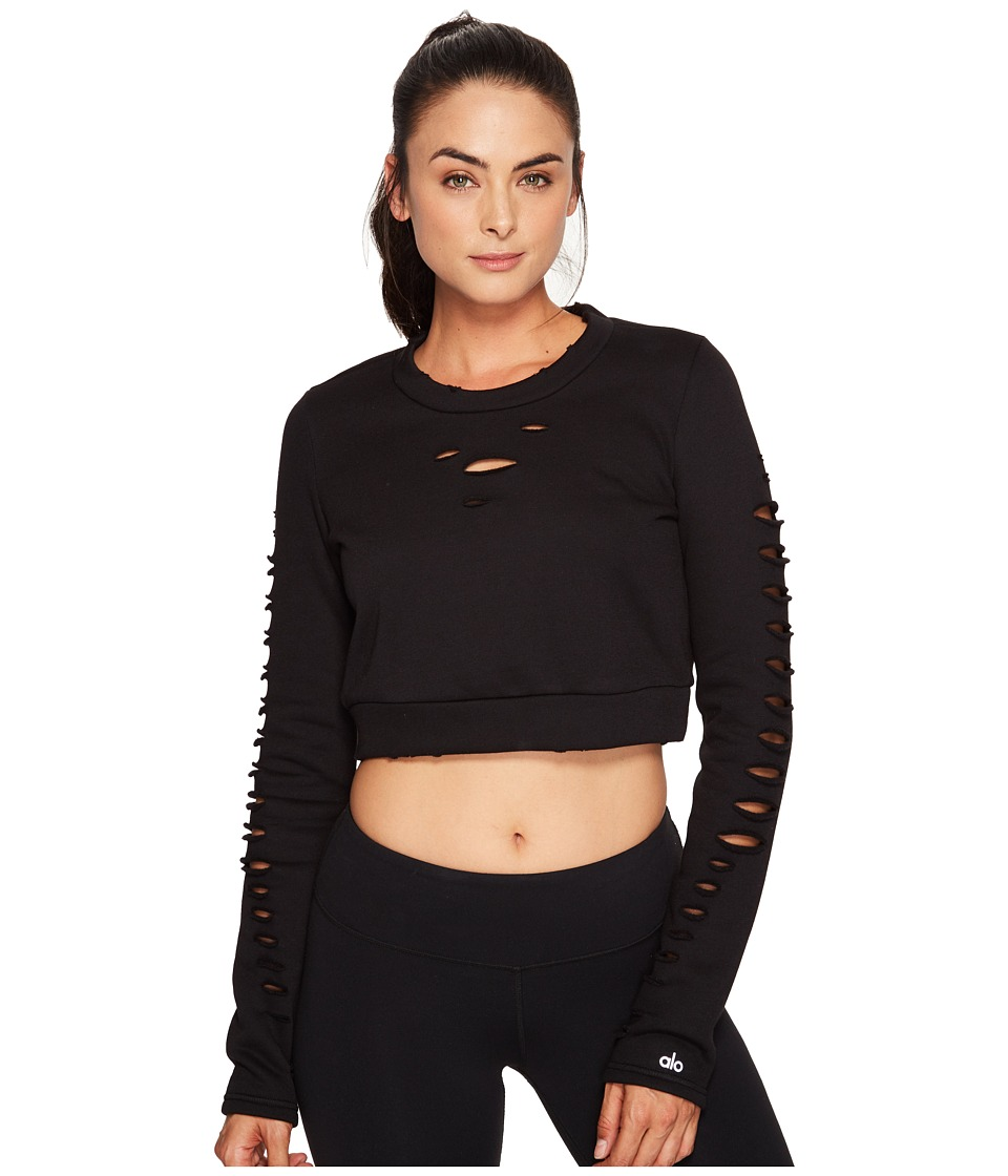 ALO - Ripped Warrior Long Sleeve Top