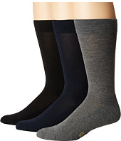 HUE - Solid Sock with Half Cushion 3-Pack