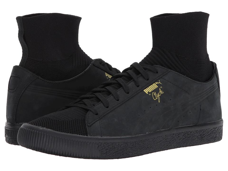 PUMA Clyde Sock Select (Puma Black/Puma Black/Puma Black) Men