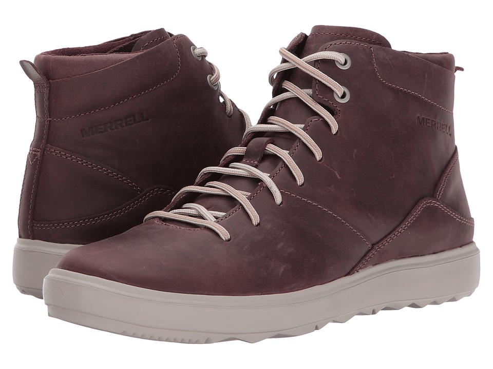Merrell Around Town Mid Lace (Huckleberry) Women