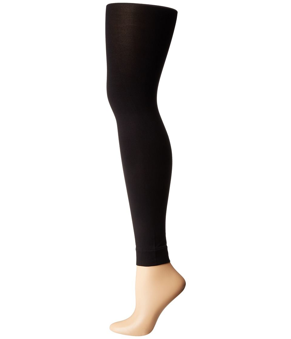 HUE - StyleTech Blackout Footless Tights (Black) Hose