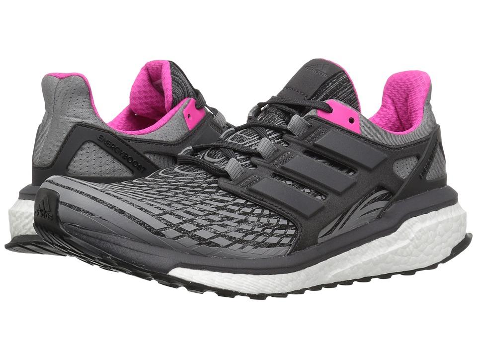 adidas Running Energy Boost (Grey/Black/Grey) Women's Running Shoes